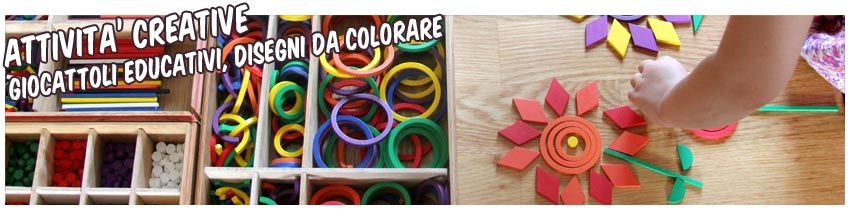 Creativi, Educativi, da Colorare