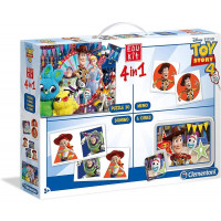 Edukit 4 in 1 Disney Toy Story 4 - Clementoni 18058