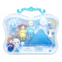 Small Doll Snow Sisters Set - Disney Frozen - Hasbro b7468es0