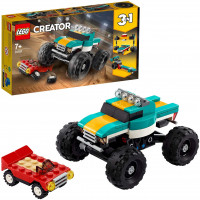 Monster Truck, Muscle Car, Dragster - LEGO Creator 31101