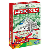 Monopoly Travel - Tascabile da viaggio