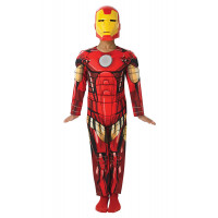 Costume Iron Man Deluxe Avengers Assemble Rubie's 887751