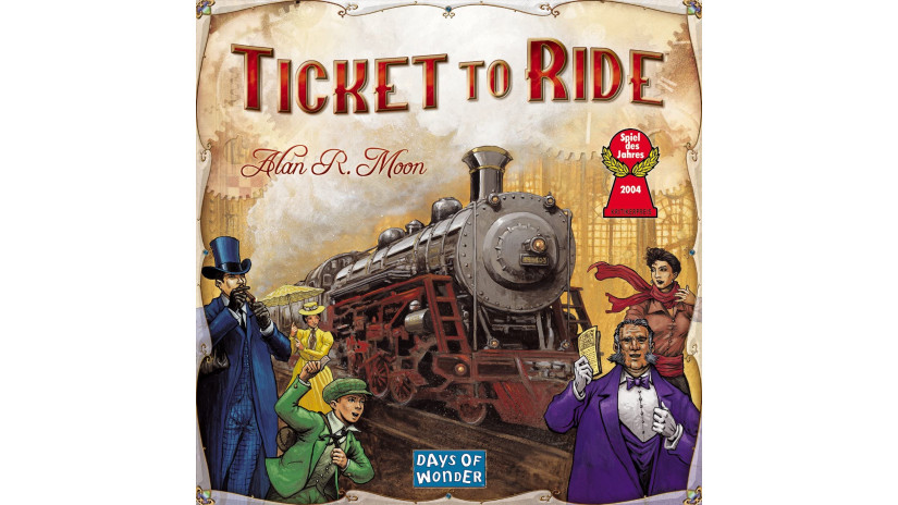 Ticket To Ride - Asmodee (versione in Italiano)