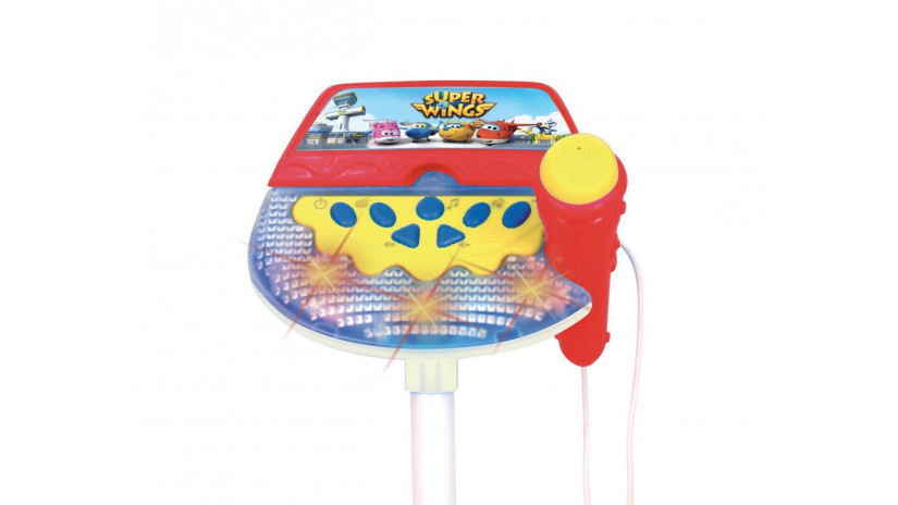 Bontempi 401769 - Microfono da Palco Super Wings