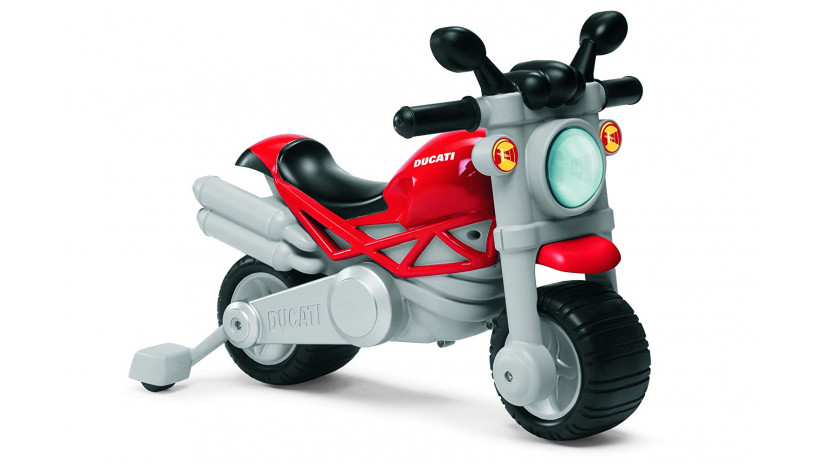 Chicco - Moto Ducati Monster Cavalcabile 2 in 1