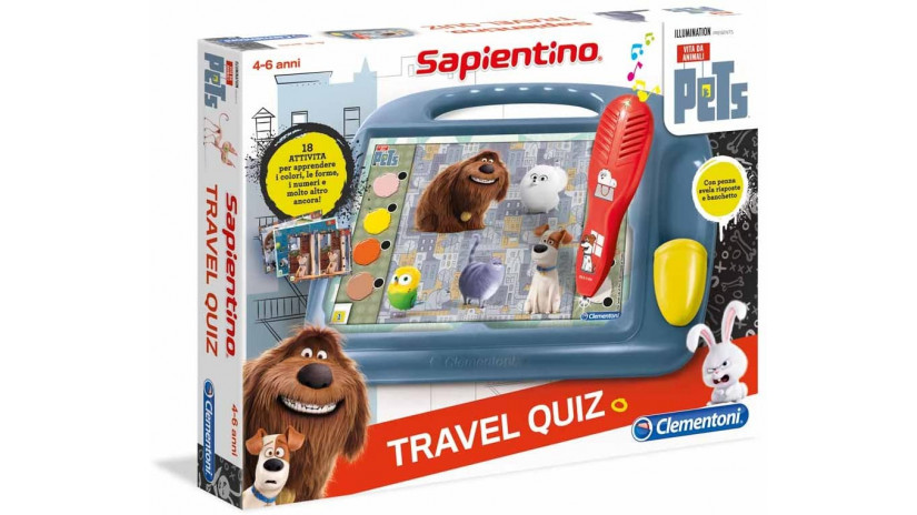 Gioco Educativo The Secret Life Of Pets - Sapientino Clementoni 11928