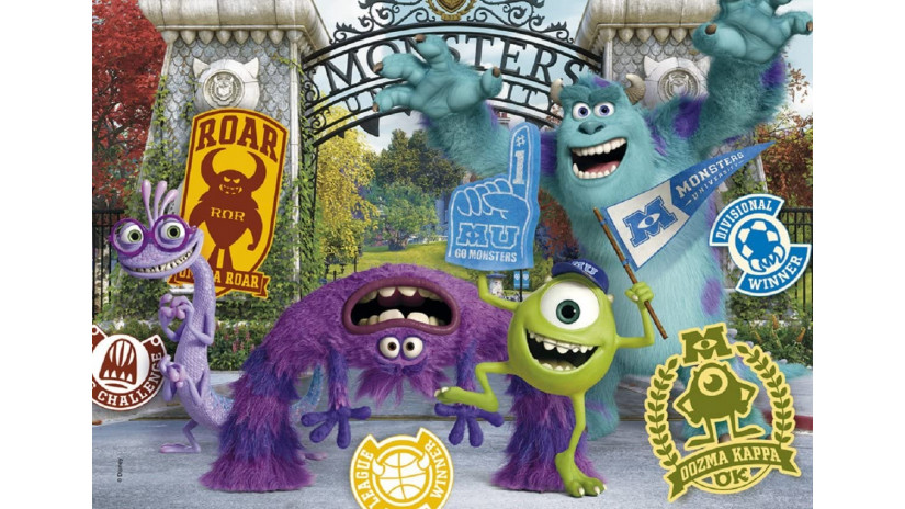 Puzzle Monster University 104 Pezzi - Clementoni 23641
