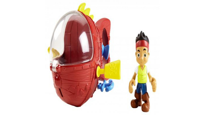 Fisher-Price Disney Jake and The Never Land Pirates Jake's Never Sea Mini Sub