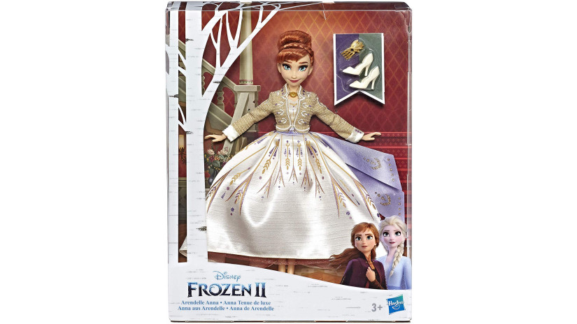 Fashion doll Anna Arendelle - Hasbro 5010993605231