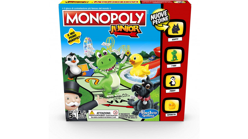 Monopoly Junior Hasbro Gaming A6984IT0