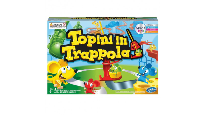Hasbro Gaming c0431103 - Topini in trappola