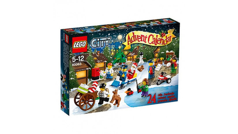 Lego City - Calendario dell'Avvento 2014
