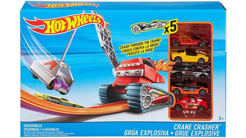 Hot Wheels Crane Crasher - Mattel FFF62