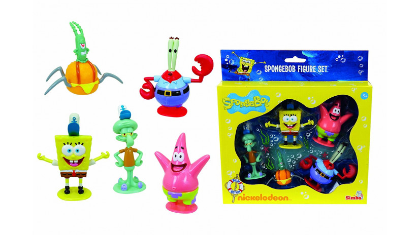Simba 109494888 - Spongebob Set Personaggi