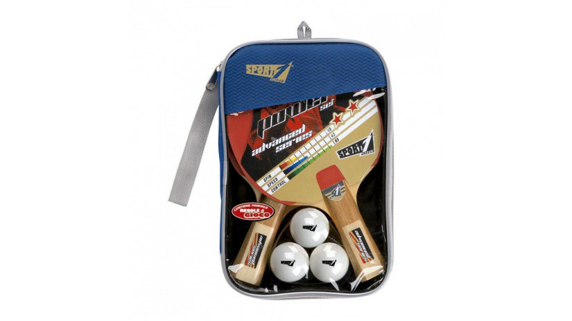 Power set ping pong SPORT ONE tennis tavolo racchetta