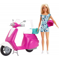 Scooter Rosa di Barbie - Mattel GBK85