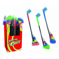 Mazza da golf con palle soft colori assortiti