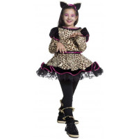 Costume Miss Leopardo Bambina Carnaval Queen 59070
