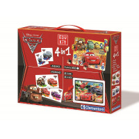 Edukit 4 in 1 Cars 2 - Clementoni 13737