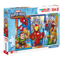 Puzzle Supercolor Marvel - Clementoni (23746)