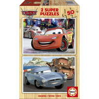 Puzzle in legno 2 in 1 Cars 2 - Educa 14936