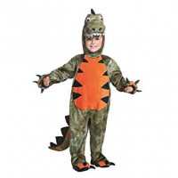 Costume Dinosauro 3/4 anni Fancy Magic 56160