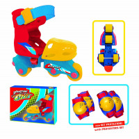 Sport One - Pattini a Rotelle Kid Roller con Protezioni