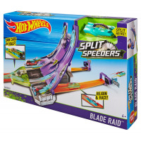 Hot Wheels DHY27 - Pista Spacca Limiti Deluxe Tv