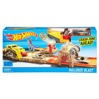 Hot Wheels Pista Bulldoze Blast - Mattel DJF04