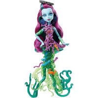 Monster High DHB47 - Bambola Posea Reef, Multicolore