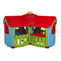 New Plast CP1395 - Casetta in Plastica, Cottage