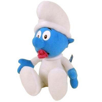 Peluche Baby Puffo, 35 cm