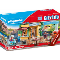 Pizzeria con Tavoli - Playmobil City Life (70336)