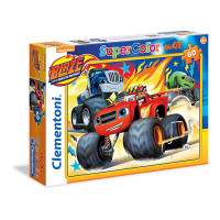 Clementoni - Puzzle Monster Machines