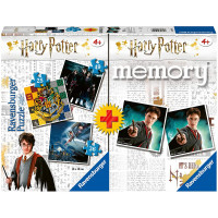 Memory Harry Potter con 3 Puzzle - Ravensburger