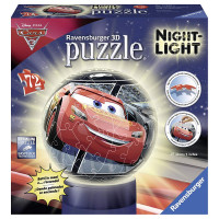 Ravensburger - Puzzle 3D Cars Light Night