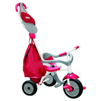 Triciclo smart trike 3in1 play pro rosso